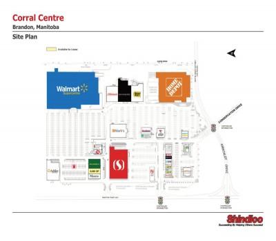 Corral Centre plan
