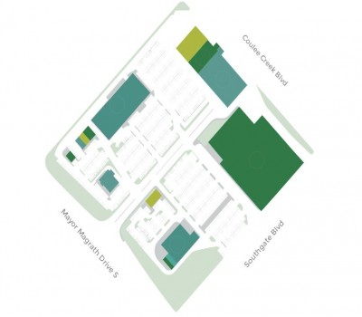 Coulee Creek Common plan
