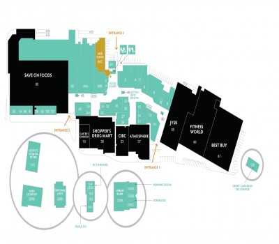 Country Club Centre plan