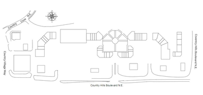 Country Hills Town Centre plan