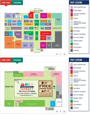 Covent Garden Market plan