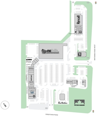 Credit Valley Town Plaza plan