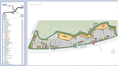 Creekside Shopping Centre plan