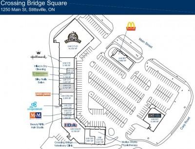 Crossing Bridge Square plan