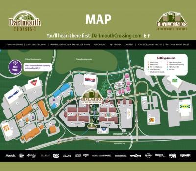 Dartmouth Crossing plan