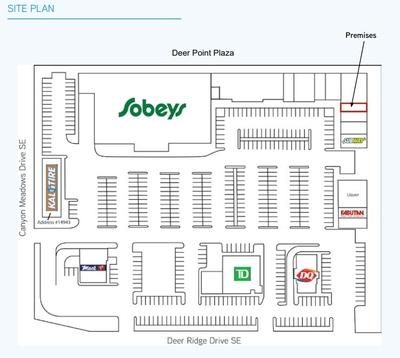 Deer Point Plaza plan