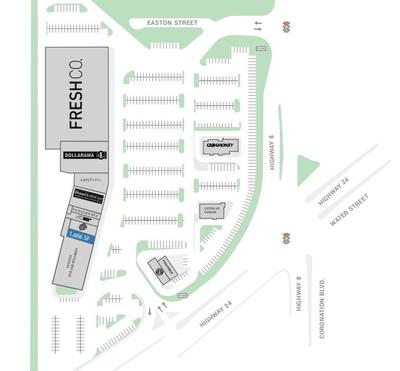 Delta Centre plan