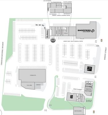 Derry Heights Plaza plan