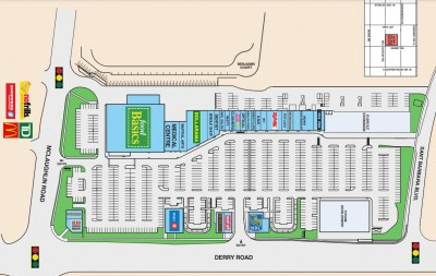 Derry Village Square plan