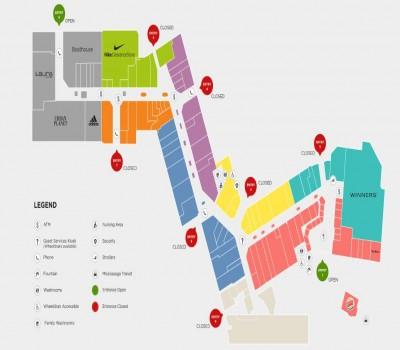 Dixie Outlet Mall - Ontario plan