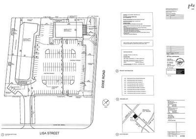 Dixie Plaza plan