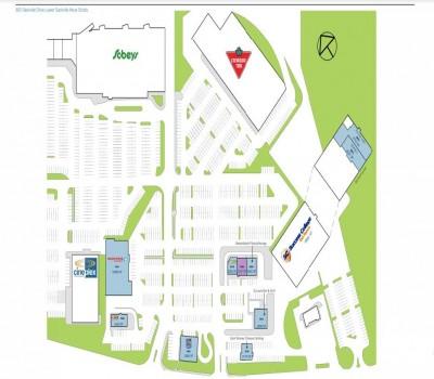 Downsview Mall plan