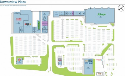 Downsview Plaza plan