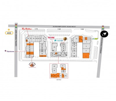 Erindale Shopping Centre (SmartCentres Burnhamthorpe) plan