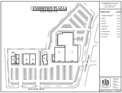 Exhibition Plaza plan