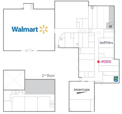 Exploits Valley Mall plan