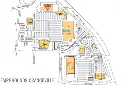 Fairgrounds Centre plan