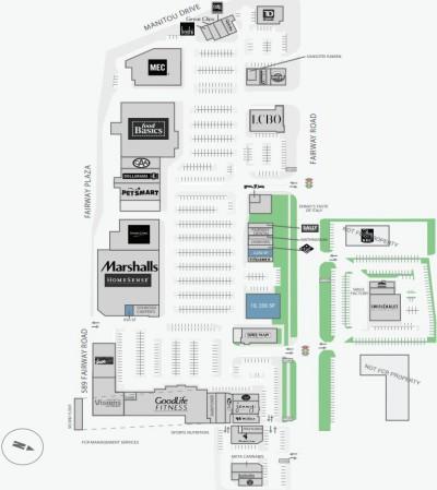 Fairway Plaza plan