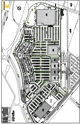 Faubourg Châteauguay plan