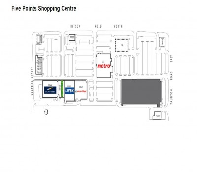 Five Points Mall plan