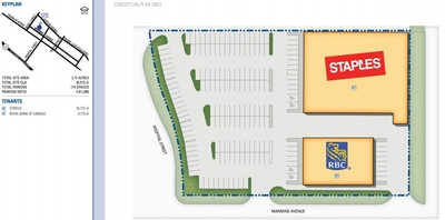 Fort McMurray Shopping Centre plan