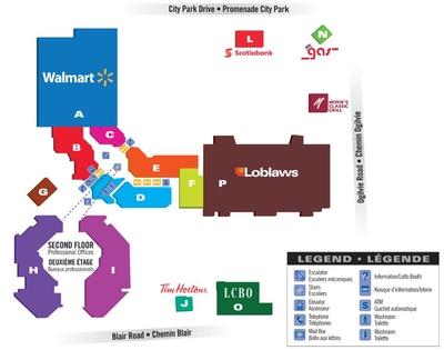 Gloucester Centre (Silver City Gloucester) plan