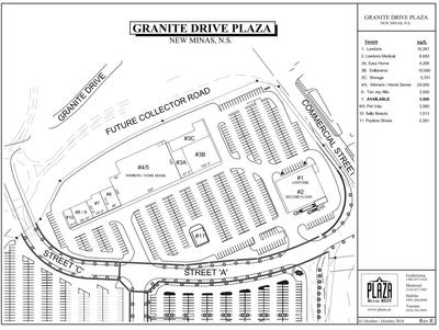 Granite Drive Plaza plan