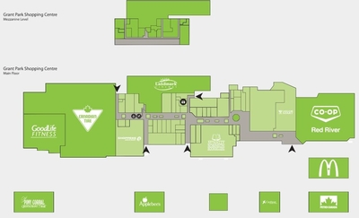Grant Park Shopping Centre plan