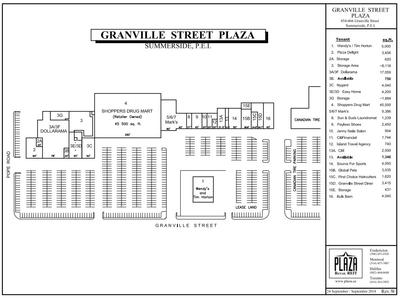 Granville Street Plaza plan
