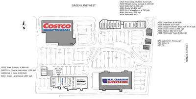 Green Lane Centre plan