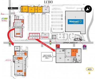 Hamilton Mountain Mall plan