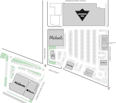 Harbour Front Centre plan