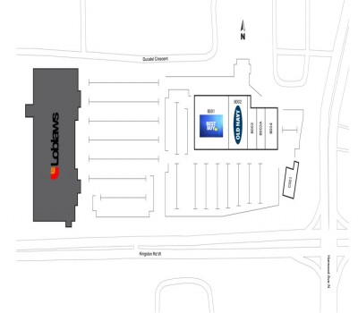 Harwood Centre plan