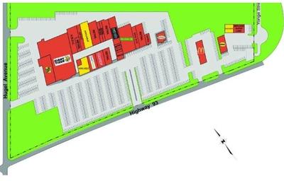 Huronia mall plan