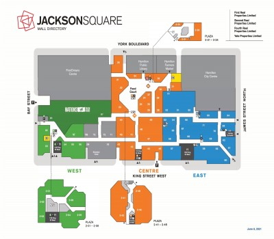 Jackson Square  plan