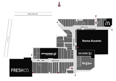 Jane-Finch Mall  plan