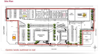 Kensington Centre plan