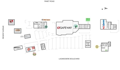 Kildonan Crossing Shopping Centre plan