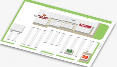 Kindersley Mall plan