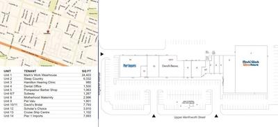Kingfisher Square plan