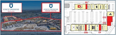 King's Crossing Power Centre plan