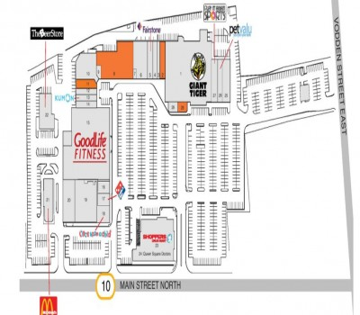 Kingspoint Plaza plan