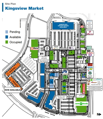 Kingsview Market plan