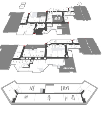 Kingsway Mall plan