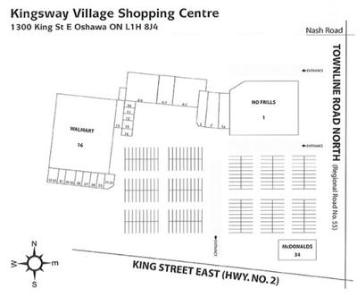 Kingsway Village Shopping Ctr plan
