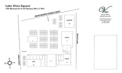 Lake Vista Square Shopping Centre plan