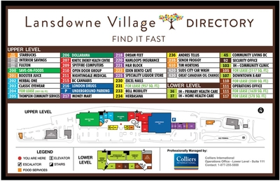 Lansdowne Village shopping centre plan