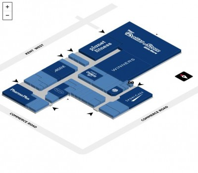 Lindsay Square Shopping Mall plan