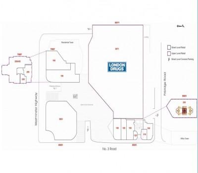 London Plaza plan