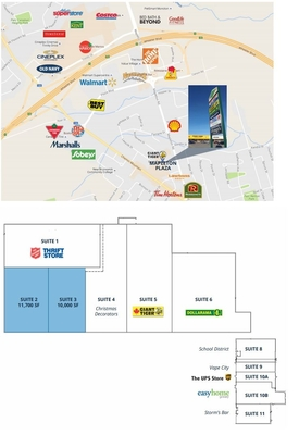 Mapleton Shopping Area - Mapleton Plaza plan